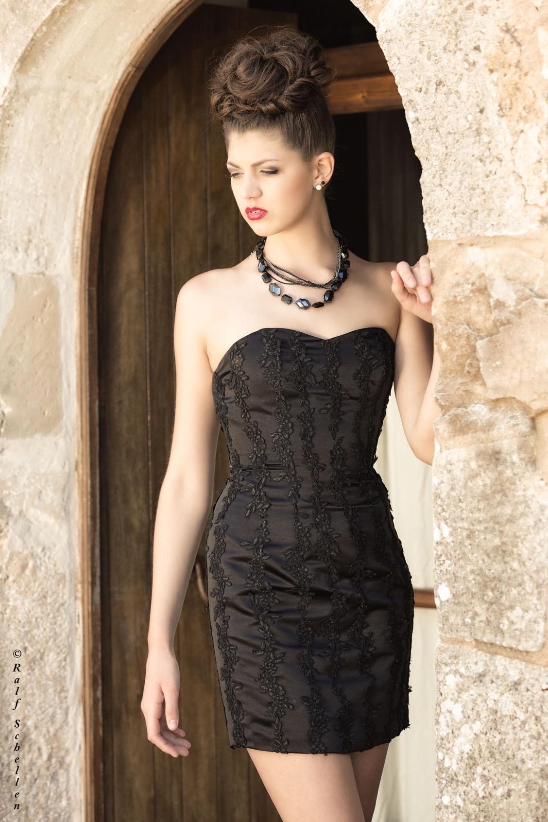 Mallorca - Sophie black mit Spitze