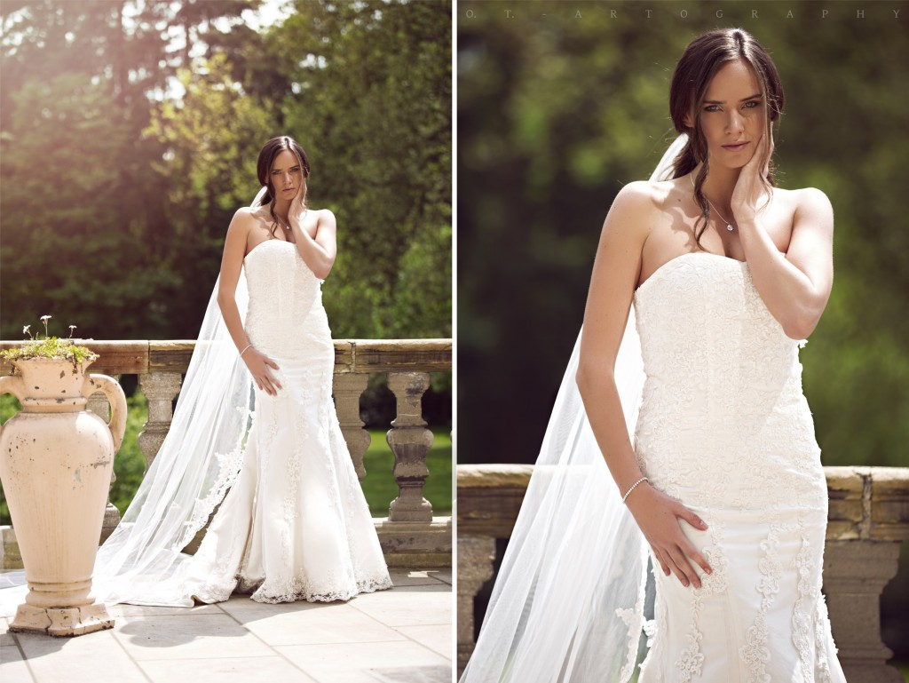 2015 - shooting - christina plass - Brautkleid Sophia