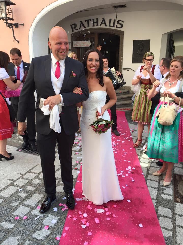 Echte Hochzeit – Doris und Thomas - Hochzeit auf der Alm