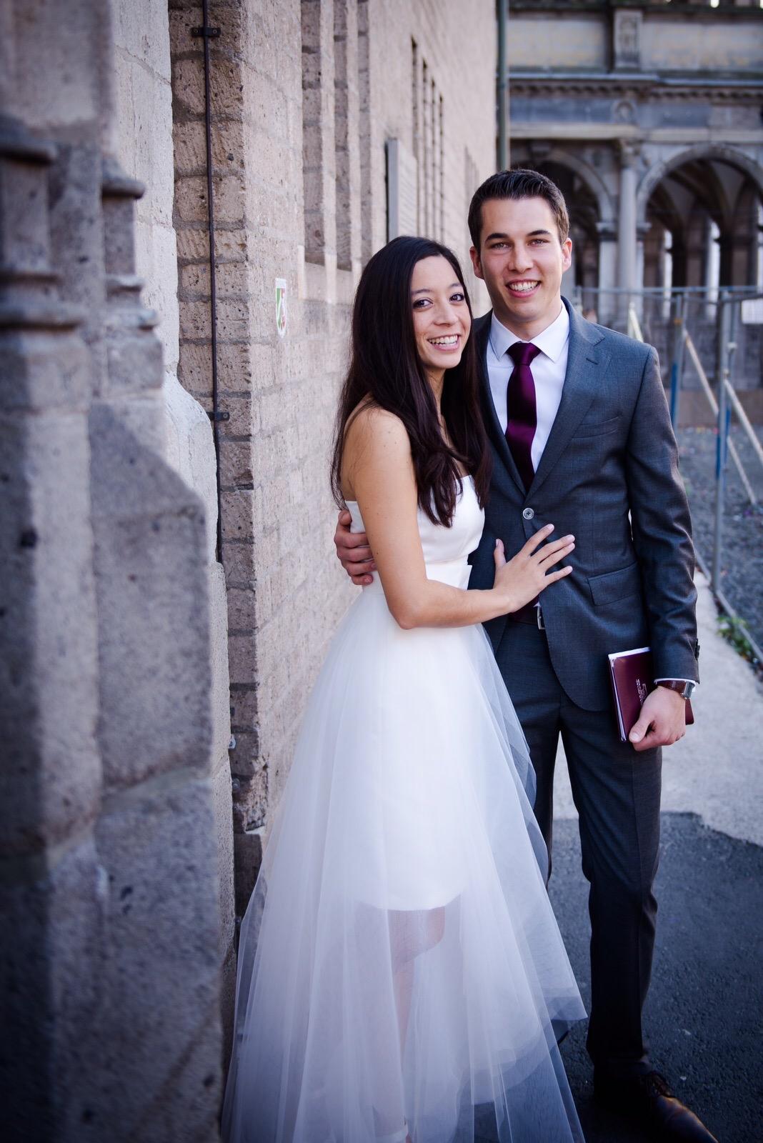 Echte Hochzeit - standesamtliche Hochzeit- Isabella - 2015