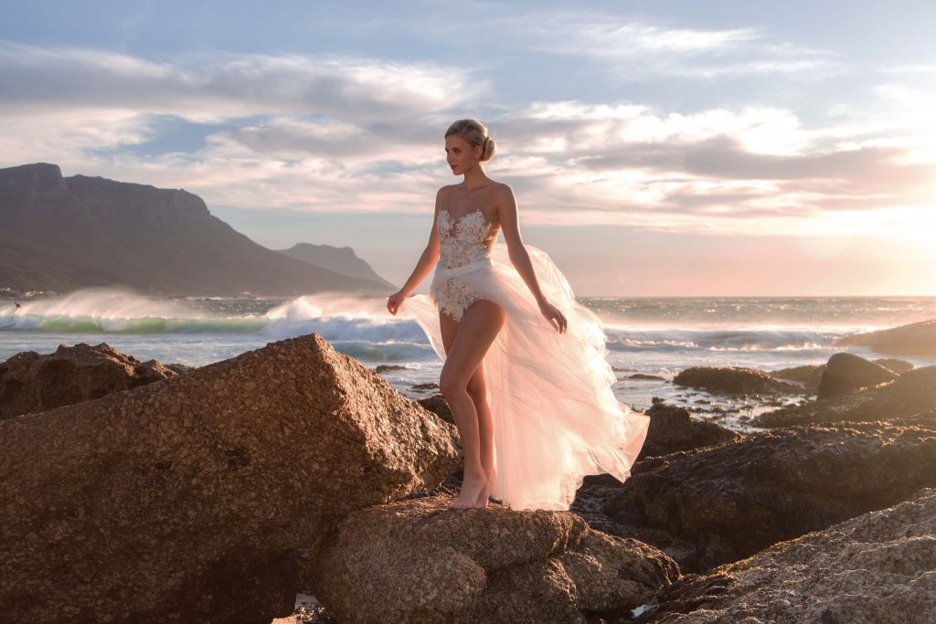 EMANUEL HENDRIK   Designer Brautkleider Shooting in Kapstadt