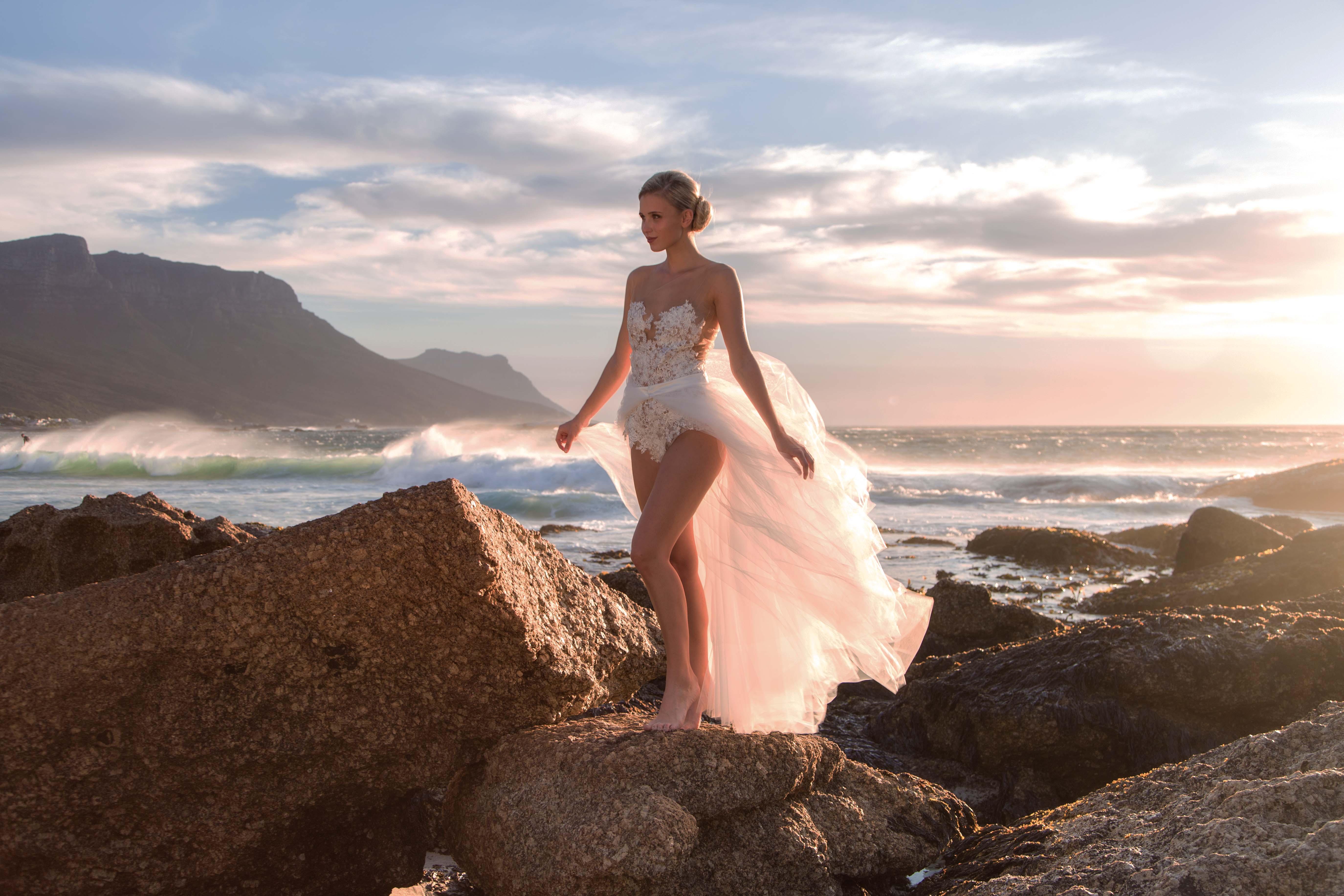 Shooting - 2016 - Kapstadt - Scarlett Gartmann - Rene Pferner - Designer Brautkleider