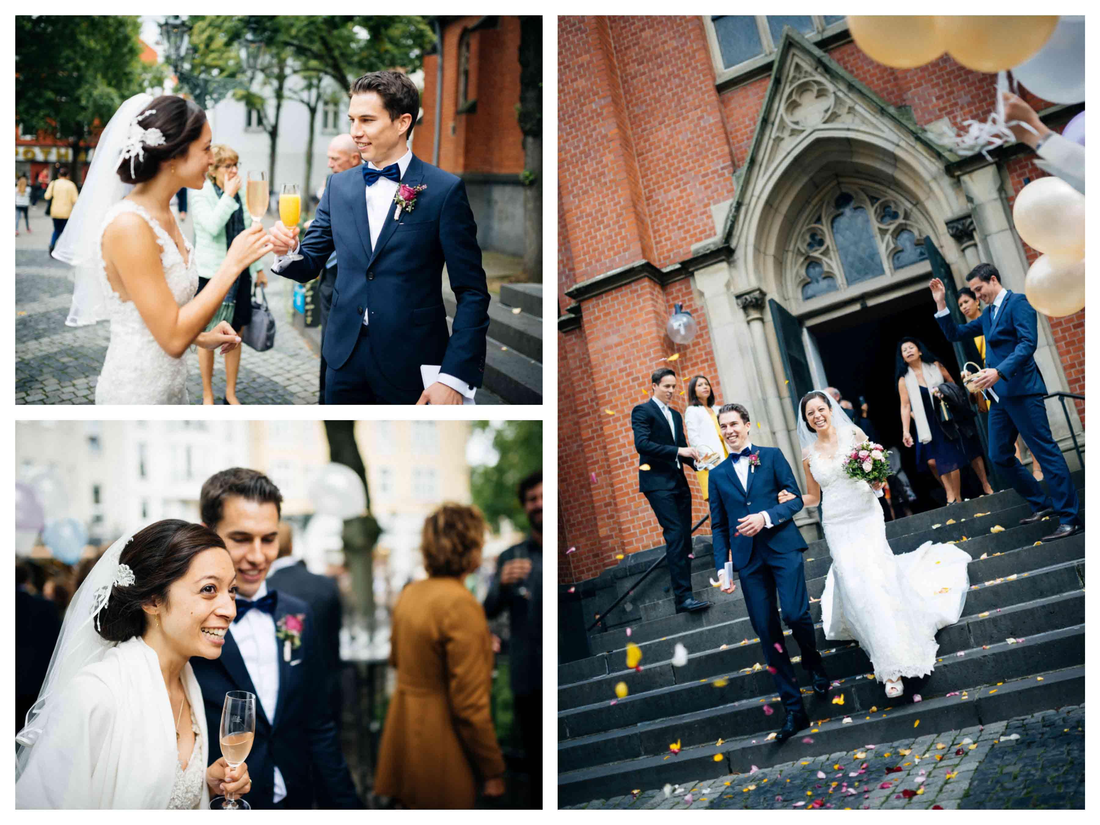 Echte Hochzeiten - 2016 - Isabelle Thiemann - Köln - Couture Brautkleid