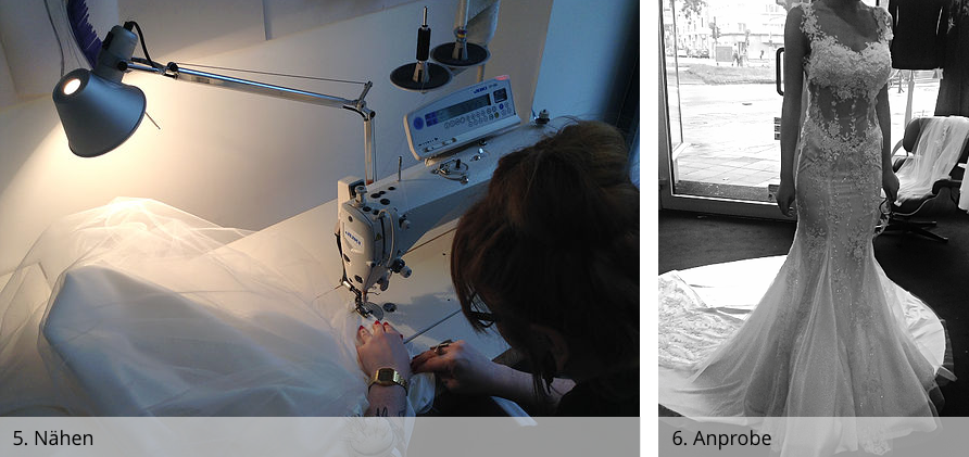 Atelier 2016 - Anfertigung - Nähen & Anprobe - couture