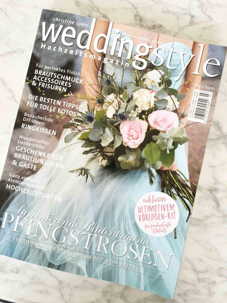 Presse - Wedding Style 3.2016 - Bräutigam - Anzug