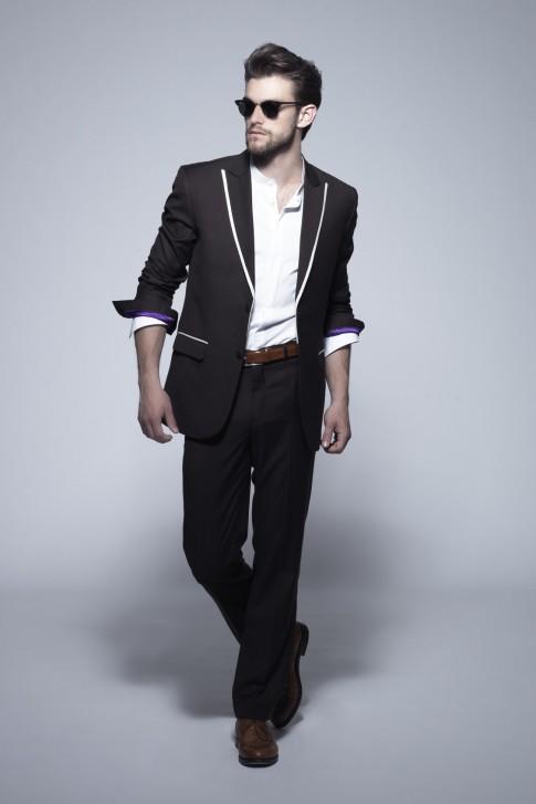 EMANUEL HENDRIK   Maßgeschneiderter Designer Hochzeitsanzug